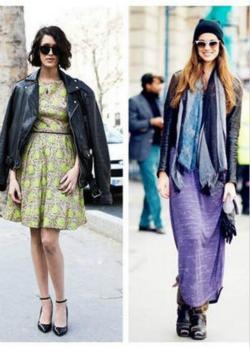 冬季服装流行示范 get连衣裙穿搭温暖又显瘦